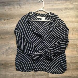 Liz Claiborne 100% silk blouse